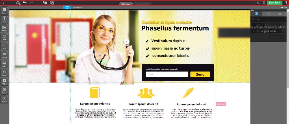 Landingi.pl - Aplikacja do tworzenia Landing Page